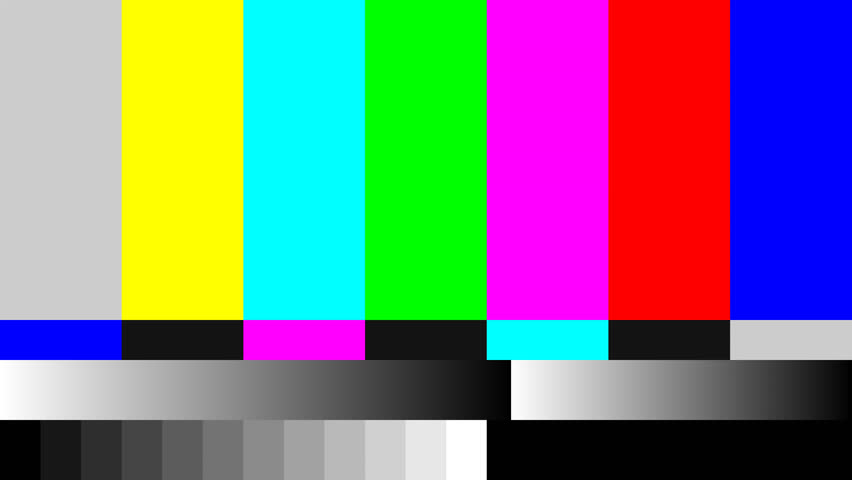 Image result for tv test pattern