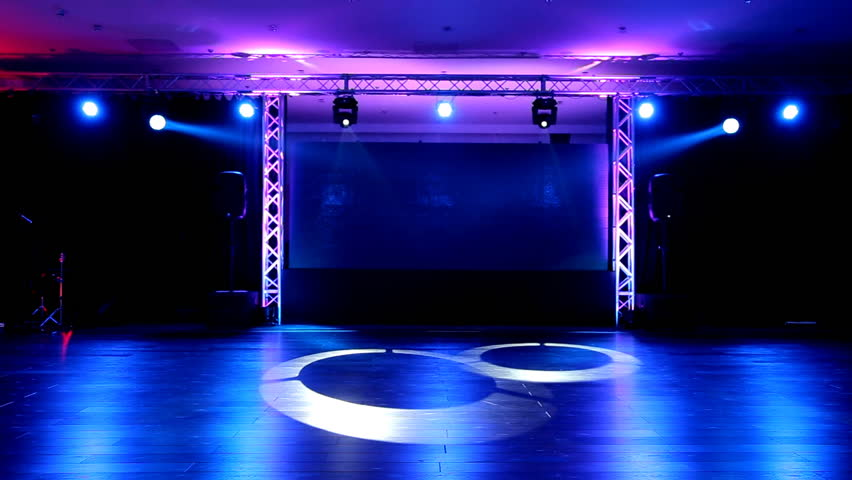 Stage And Lights Before Show Stock Footage Video 100 Royalty Free 5446067 Shutterstock