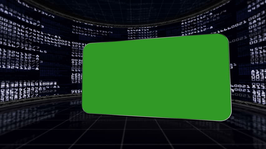 Green Screen Monitor in Numbers Room, with Alpha Channel   Shutterstock HD Video #5456207