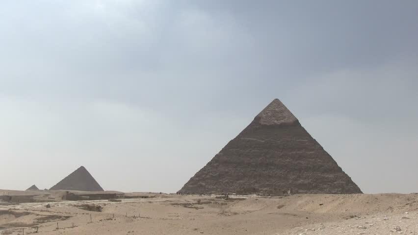 Pyramid, Giza, Egypt   Shutterstock HD Video #5552567