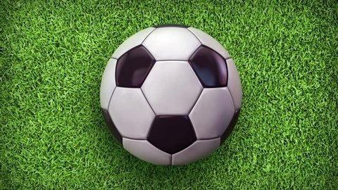 Football World. Soccer video animation.