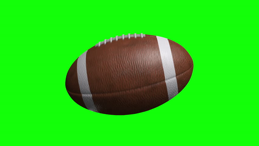 American Football on green screen Spinning | Shutterstock HD Video #5568407