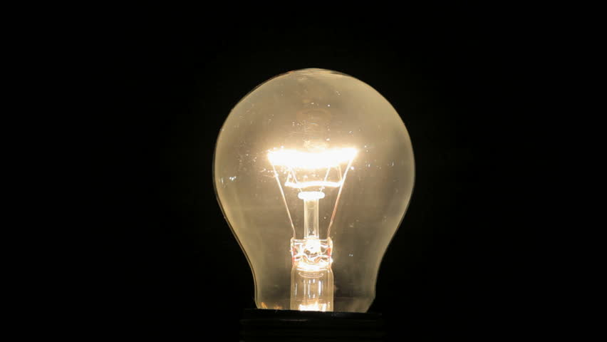 Lightbulb on and off | Shutterstock HD Video #5647298
