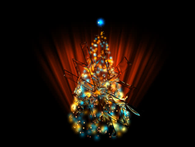 Christmas footage 03 spanish shining stock footage video 100 sd0015christmas footage 03 french shining christmas tree christmas greeting card with shining christmas tree and with text joyeux nol m4hsunfo