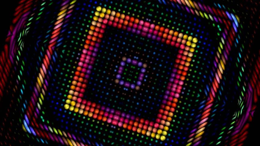 Light flare geometric figure seamless background
