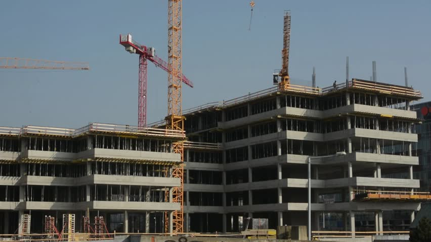 Building Construction Stock Footage Video Shutterstock