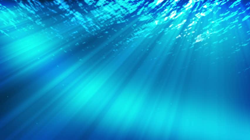 Realistic underwater Scene 4k video