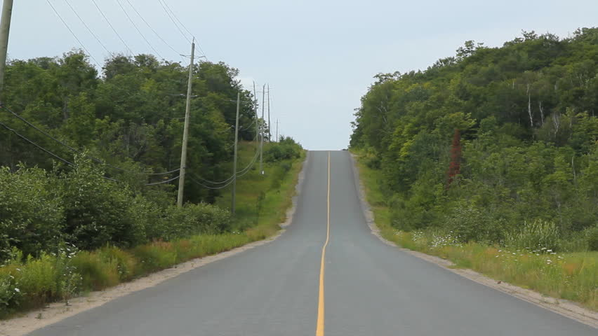 Middle of the road. 