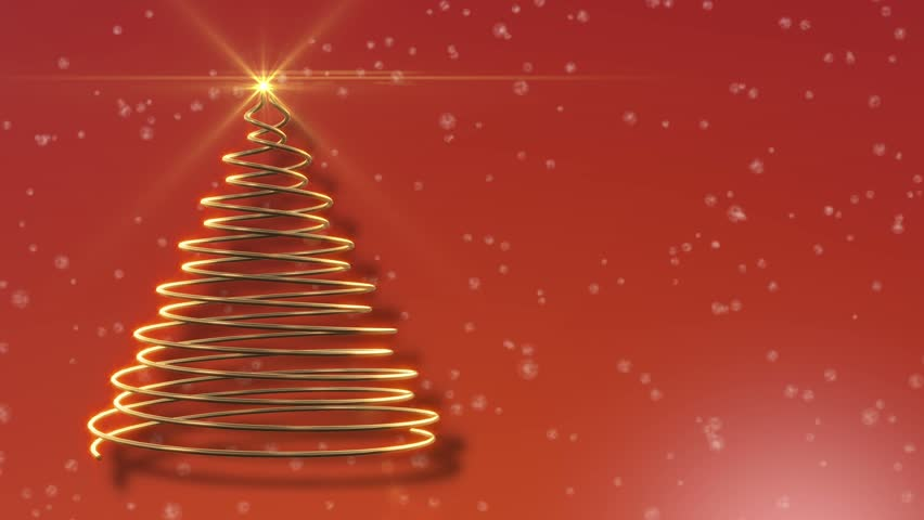 Christmas Backgrounds For Computer.Abstract Christmas Tree Festive Orange Stock Footage Video 100 Royalty Free 5928317 Shutterstock