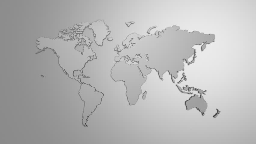 World map white background videos de metraje en stock 7339408 world map hd stock footage clip gumiabroncs Gallery