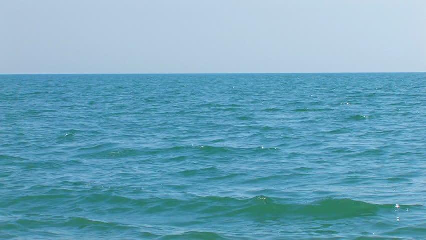 HD sea and sky, Canon XH A1, FullHD video, 1080p, 25fps, progressive scan