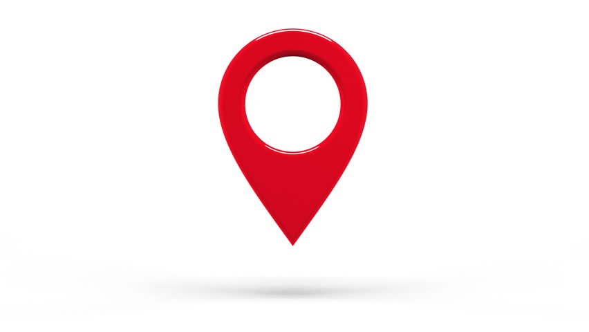 Map Marker Icon Stock Footage Video (100% Royalty-free) 6248717