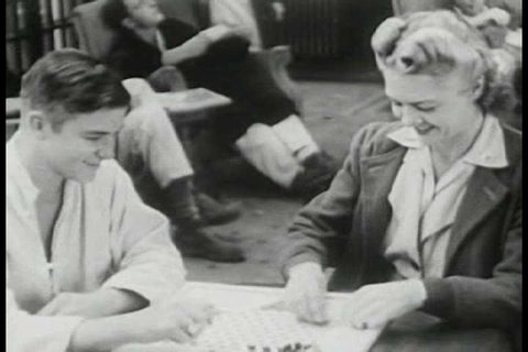 CIRCA 1950s - The American Red Cross sends most of its blood donations to the wounded in Korea in 1951.