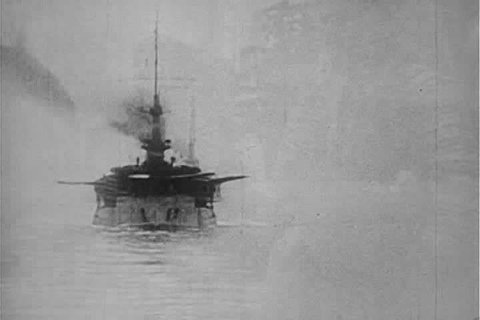 CIRCA 1910s - World War One footage of British military battle at Gallipoli Turkey.