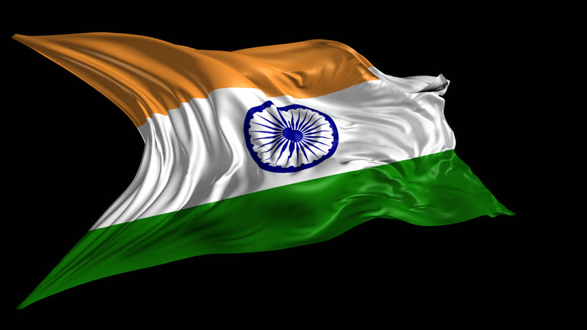 India Flag Hd Art: Flag Of India Beautiful 3d Animation Of India Flag With