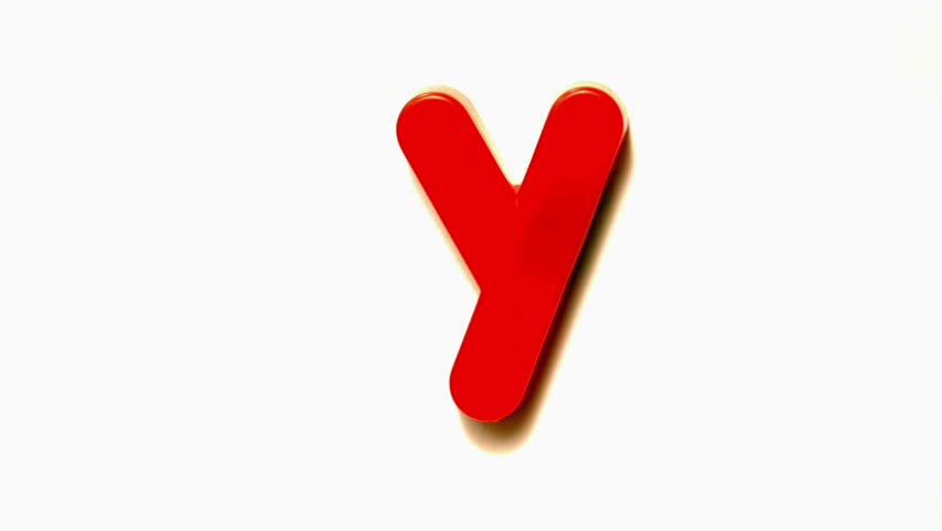 Stock video of red letter y lifting off white 6336947 shutterstock thecheapjerseys Images