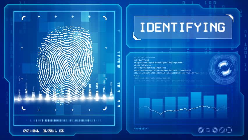 Fingerprint scan    Shutterstock HD Video #634312