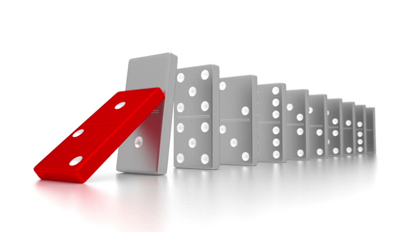 Image result for domino effect