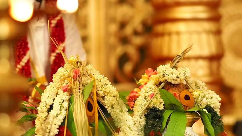 Hindu Wedding Stock Footage Video  Shutterstock-2795