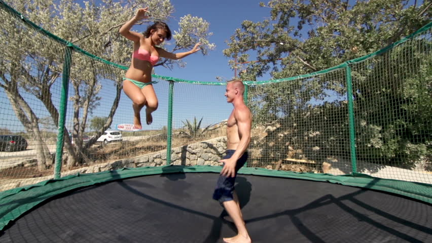 Naked Girl Jumps On Trampoline And Gets Fucked Hardcore Naked Girls