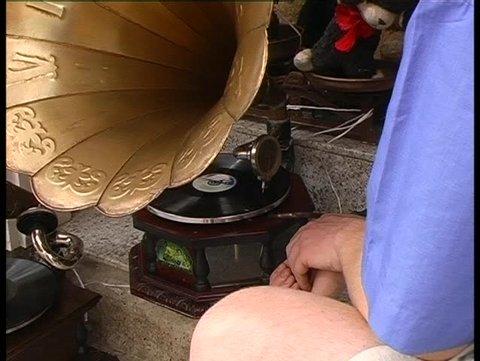 Old gramaphone