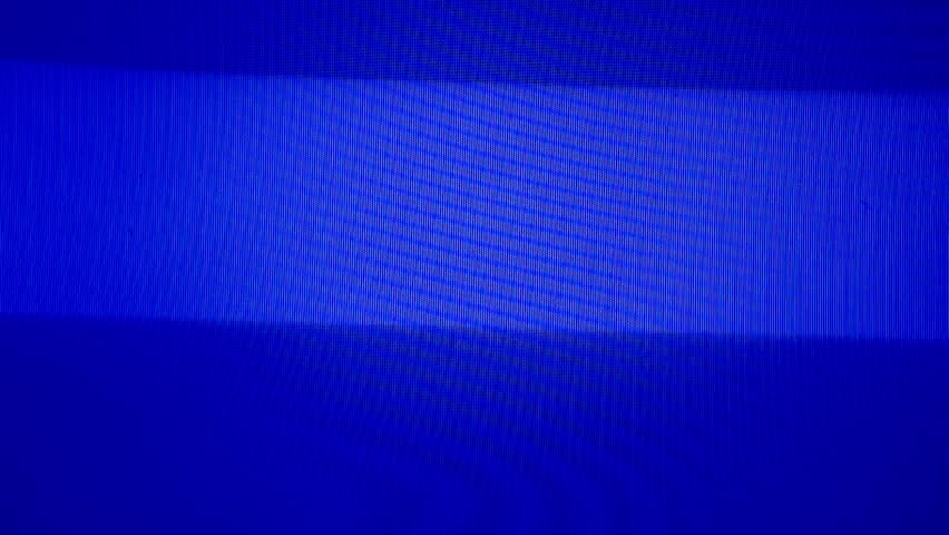 Blue television screen, tv broadcast failure | Shutterstock HD Video #6612677