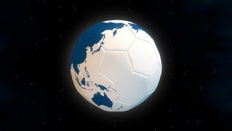 Planet Football : World Cup - seamless loop