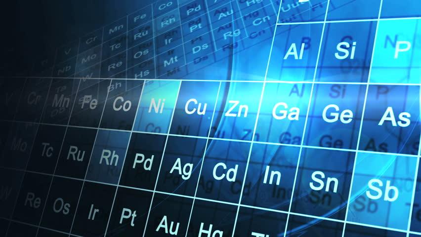 Stock video of cg motion graphic scientific periodic table 6311798 visually similar footage urtaz Choice Image