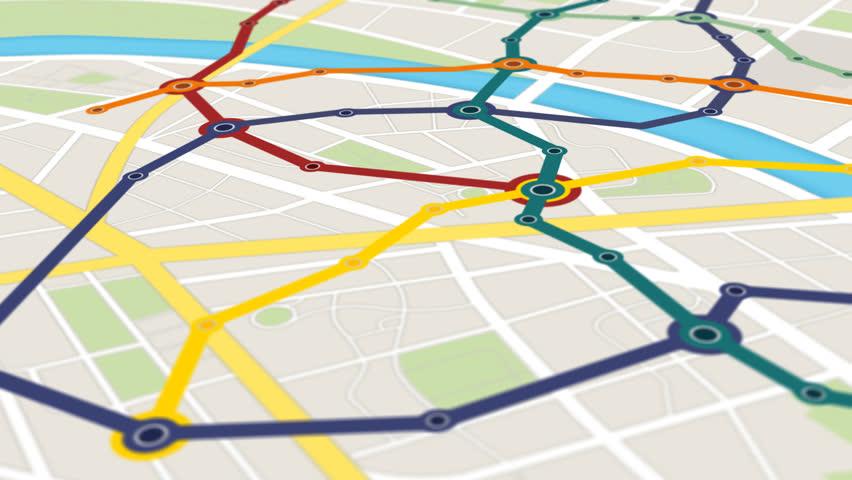 Gps Navigation of Metro Transportation  Vidéos de stock (100 % libres de  droit) 6731587 | Shutterstock