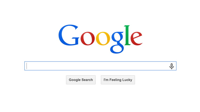 USA, JULY 10, 2014: Google is American multinational corporation and the most popular search engine in the world. Google processes about 1 trillion search queries a year. Search for FINANCIAL MARKET  | Shutterstock HD Video #6816277