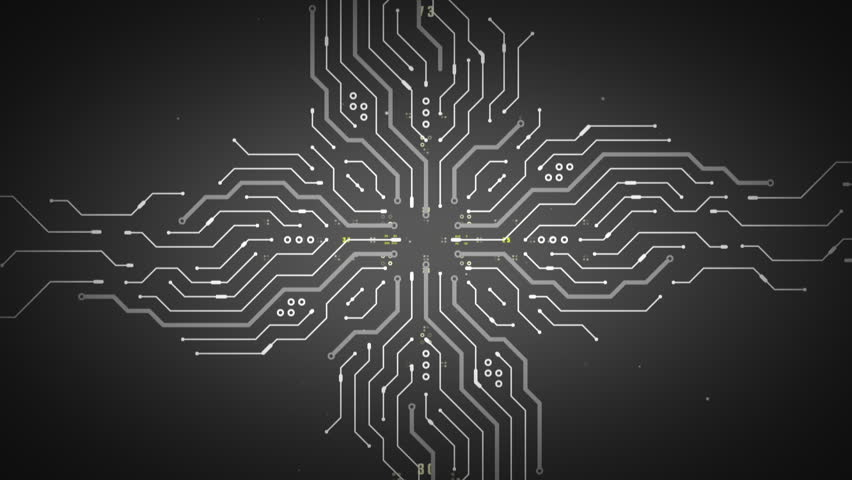 An Abstract Illustration of Computer Stock Footage Video (100 ...