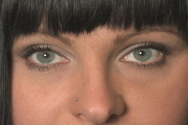 Beautiful Eyes Sd Closeup Of Stock Footage Video 100 Royalty Free 702217 Shutterstock