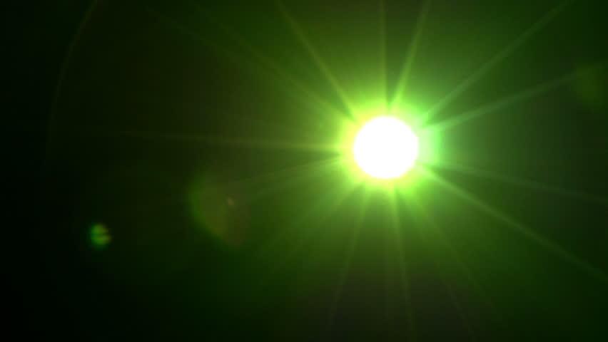 Stock Video Of Strange Flickering Light Bright Lights