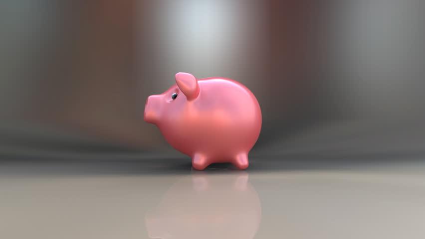 Piggy bank | Shutterstock HD Video #7155247