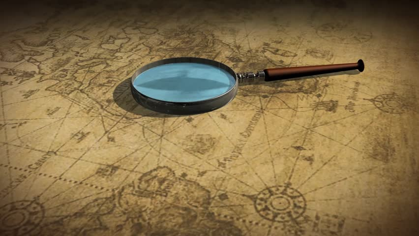 Vintage world map with magnifying glass dolly shot stock footage vintage world map with magnifying glass dolly shot stock footage video 7185997 shutterstock gumiabroncs Image collections