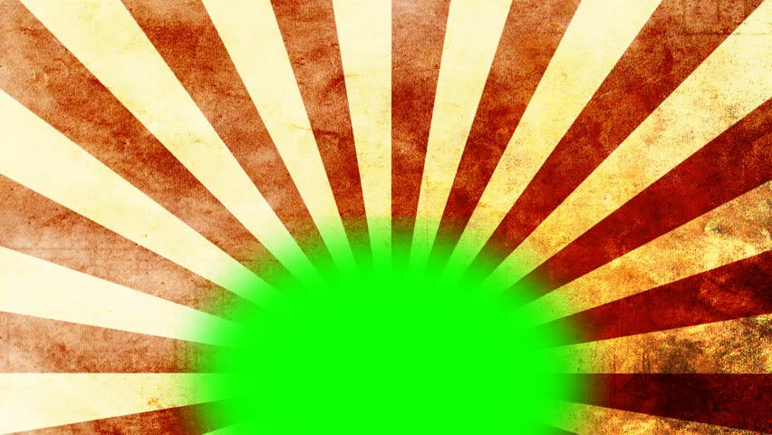 Retro stripes animation - green screen - video background | Shutterstock HD Video #7230367