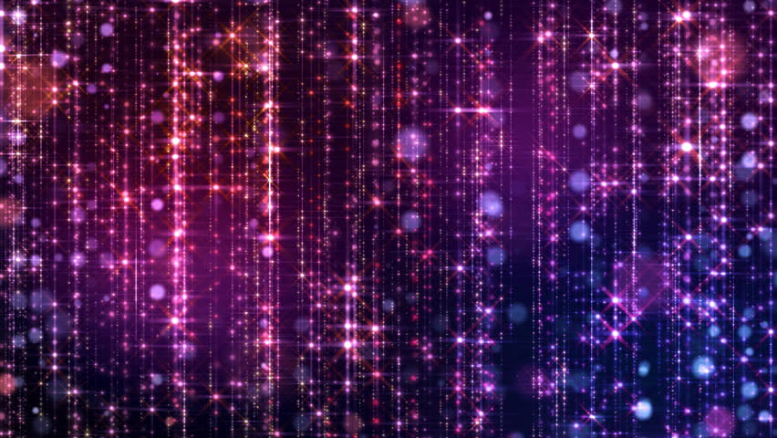 Violet glamour background with particles, vj