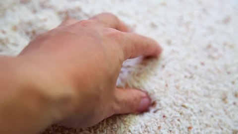 Sand in the Hands of Stock Footage Video (100% Royalty-free
