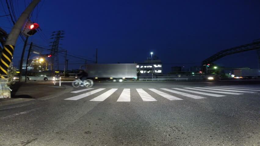 Hyper lapse of Tokyo metropolitan driving. | Shutterstock HD Video #7314637
