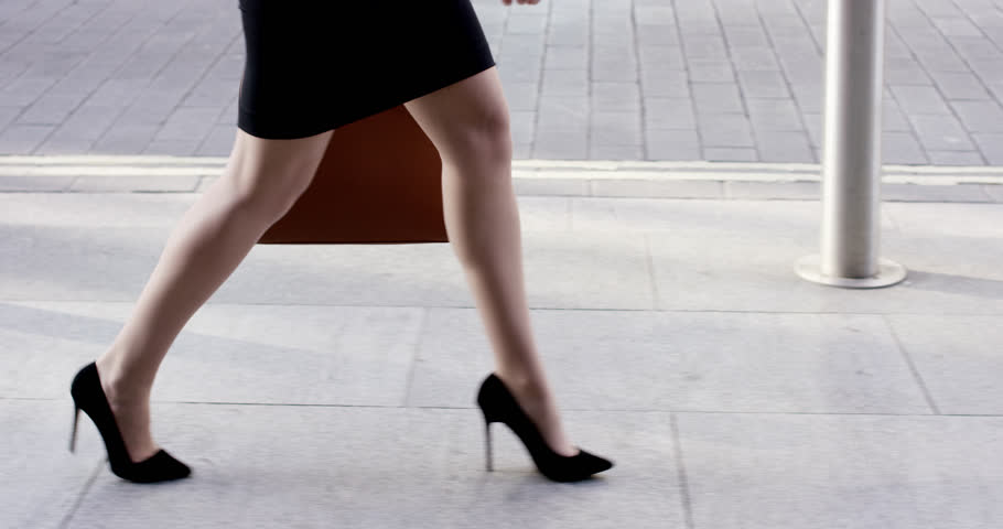Sexy Legs Black High Heels Stock Footage Video 100 Royalty Free 7391347 Shutterstock