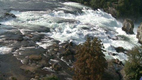 Swiss Waterfall Rheinfall Part 2