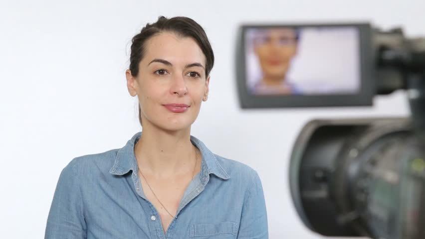 TV talent on broadcast