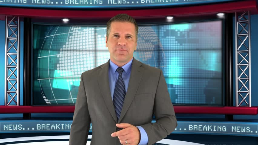 A News Reporter Does a Story On The Growing Immigration Concerns in the United States