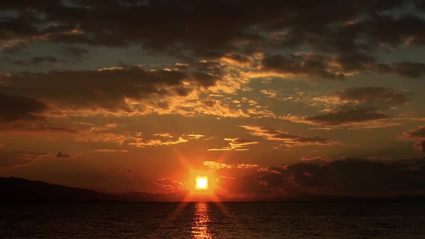 Sunset Time Lapse | Shutterstock HD Video #8051077