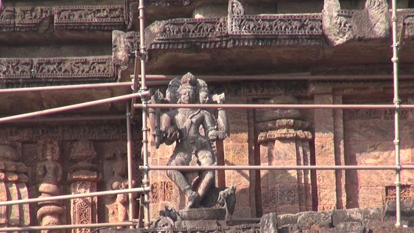world heritage Konark sun temple, India
