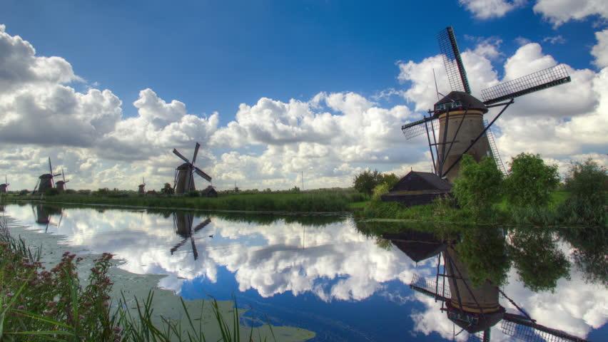 Dutch Windmills Kinderdijk