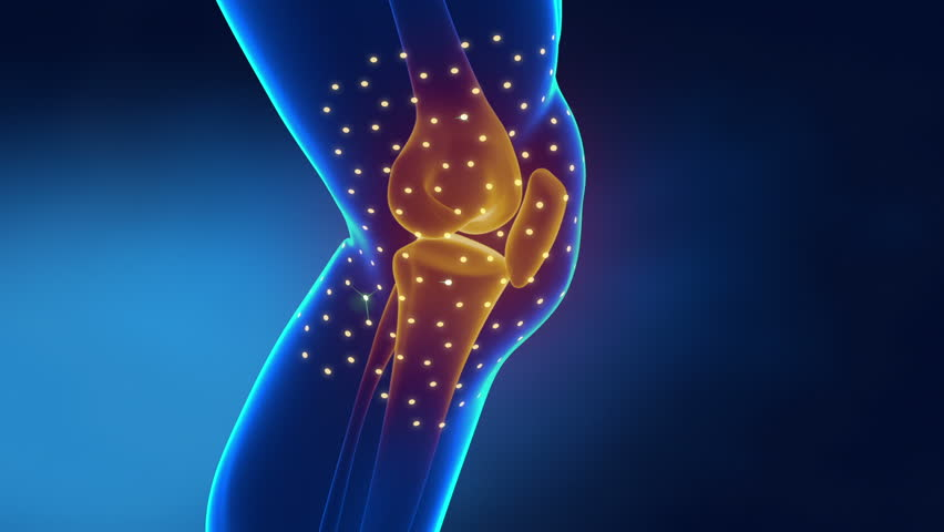 Pain in knee with therapeutic effects | Shutterstock HD Video #8115082