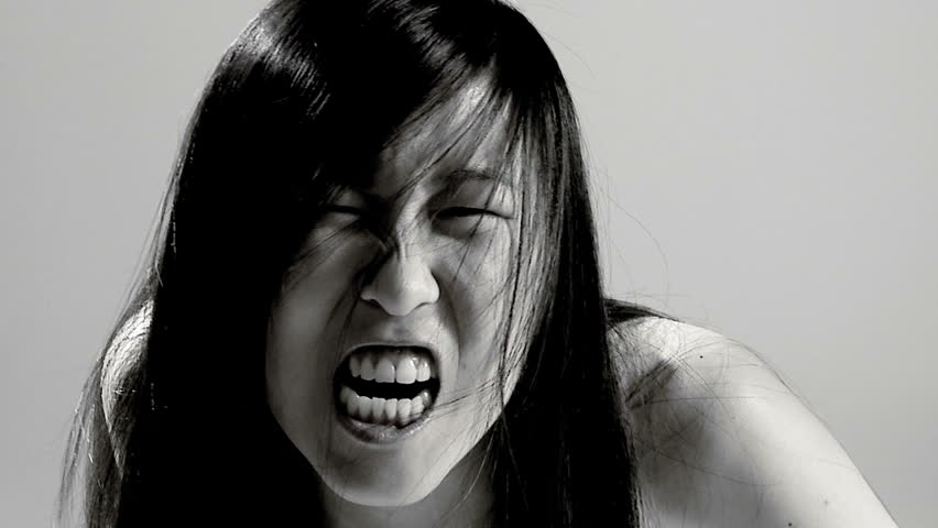 Shaved asian movies screaming