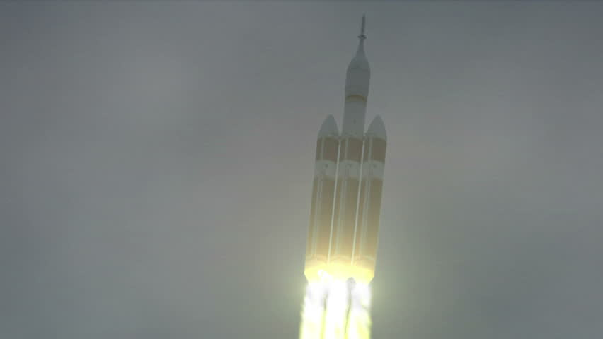 Test launch of the NASA Orion Spacecraft | Shutterstock HD Video #8145997