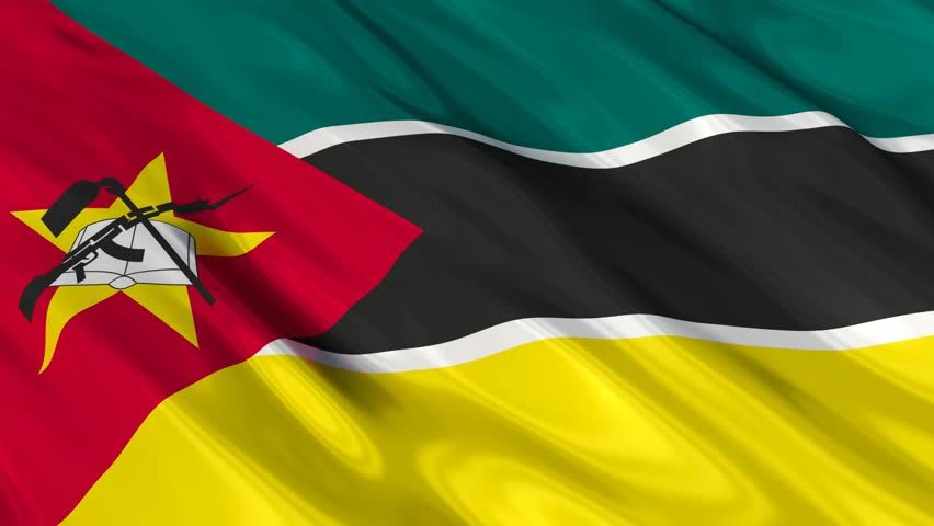 Flag of Mozambique Waving in Stock Footage Video (100% Royalty-free)  8163067 | Shutterstock